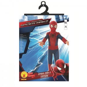 Deguisement Spiderman Amazing 2 Pochette - demo jouets