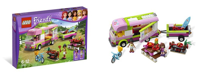LEGO FRIENDS 3184 camping car Demo Jouet