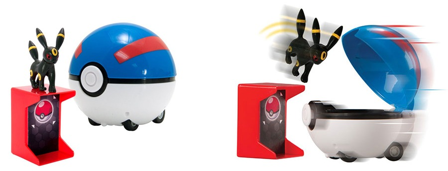 POKEBALL Catch and return all Demo Jouets