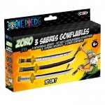 sabres gonflables Zoro one piece boite Démo Jouets
