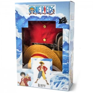 Photo du Coffret déguisement Luffy de Caritan