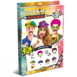 Photo Selfie Booth photo delire kit disco boite Canal Toys