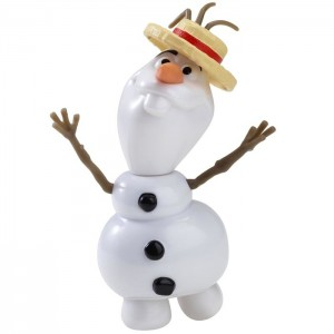 Photo figurine Reine des Neiges Olaf Chanteur Giochi Preziosi Open