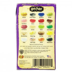 Photo des arômes BEANS HARRY POTTER JELLY BELLY